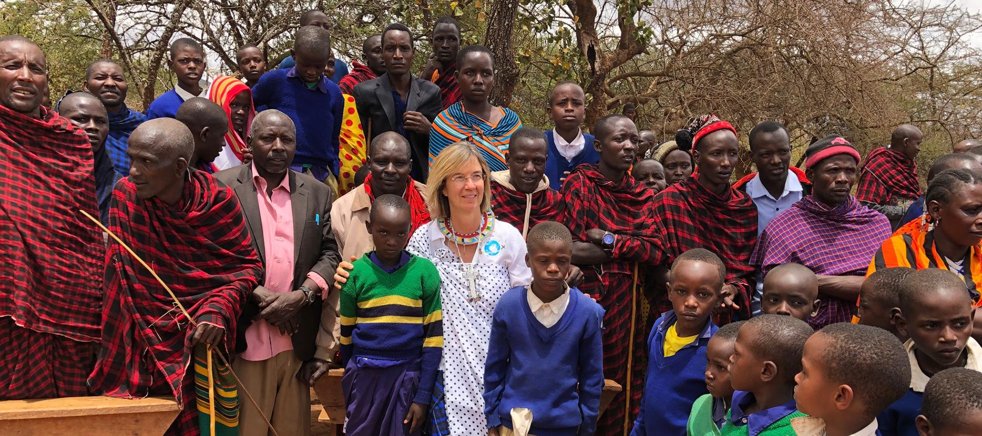 Dr. Hannke-Lohmann in Afrika